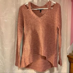 American Eagle Outfitters Sweaters - High/Low Sweater w/ Shoulder Cutouts